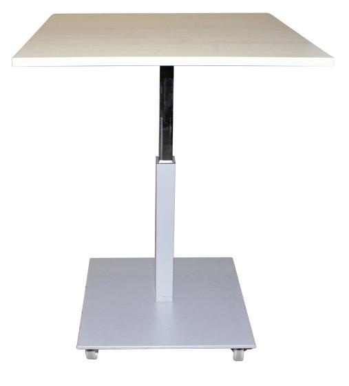 Steh-Sitz-Tisch, HUB-Tisch, Besprechungstisch OMT - höhenverstellbar