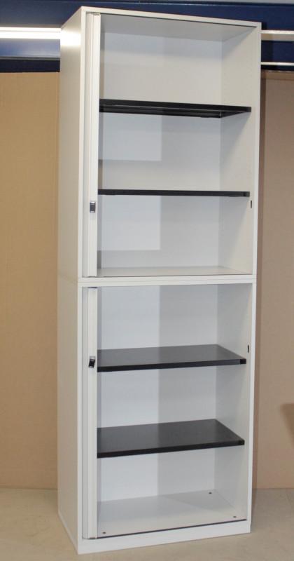 Aktenschrank/Sideboard 2 x 3OH Steelcase, Querrollade, abschließbar