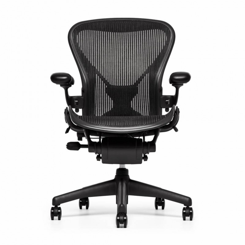 Refurbished Herman Miller Aron Chair - Front