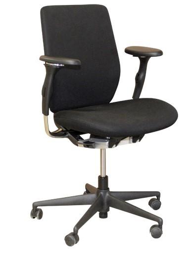 "Drehstuhl, Bürostuhl - VITRA Modell: ""Oson C"", schwarz, Stoff"