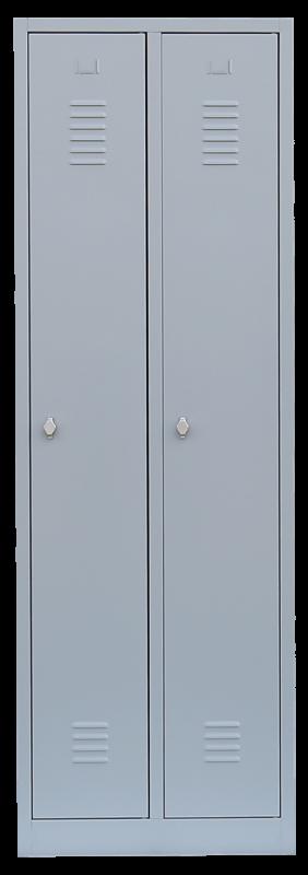 Stahl- Kleiderschrank / Spind 180 x 60 x 50