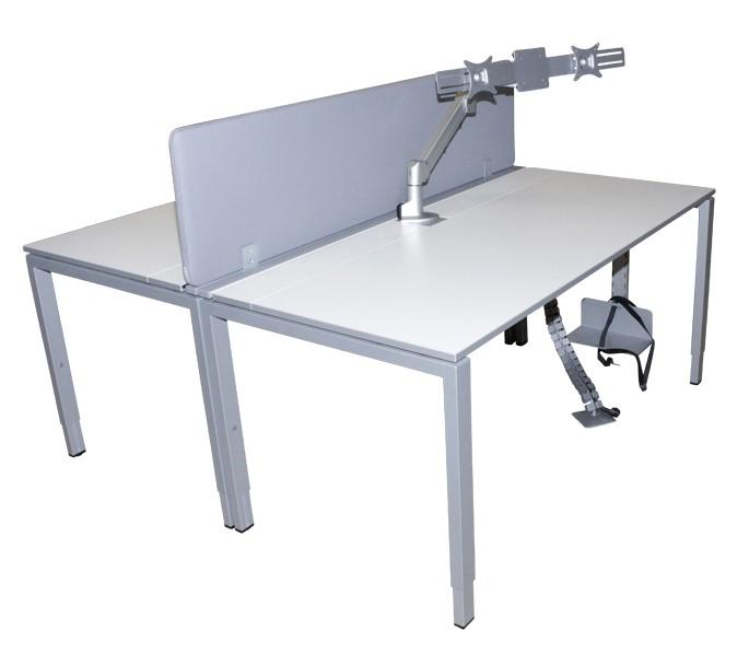 gebrauchter Bürotisch von CEKA, günstig gebrauchte Büromöbel, Buero2 ...