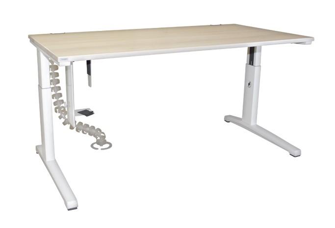 Schreibtisch AKTIVA von Steelcase, höhenverstellbar